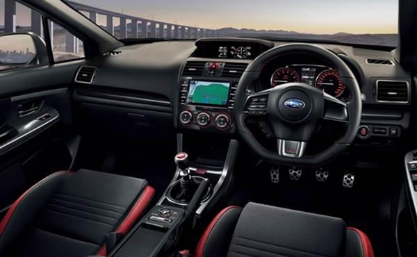 2017 Subaru Wrx Sti Interor