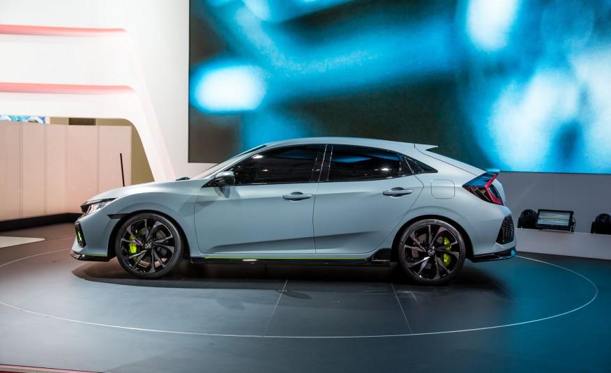 2017 Honda Civic Hatchback 5