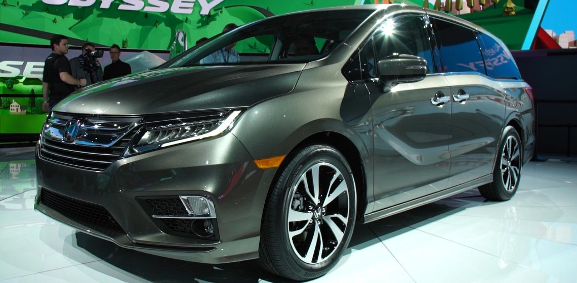 2018 Honda Odyssey 3