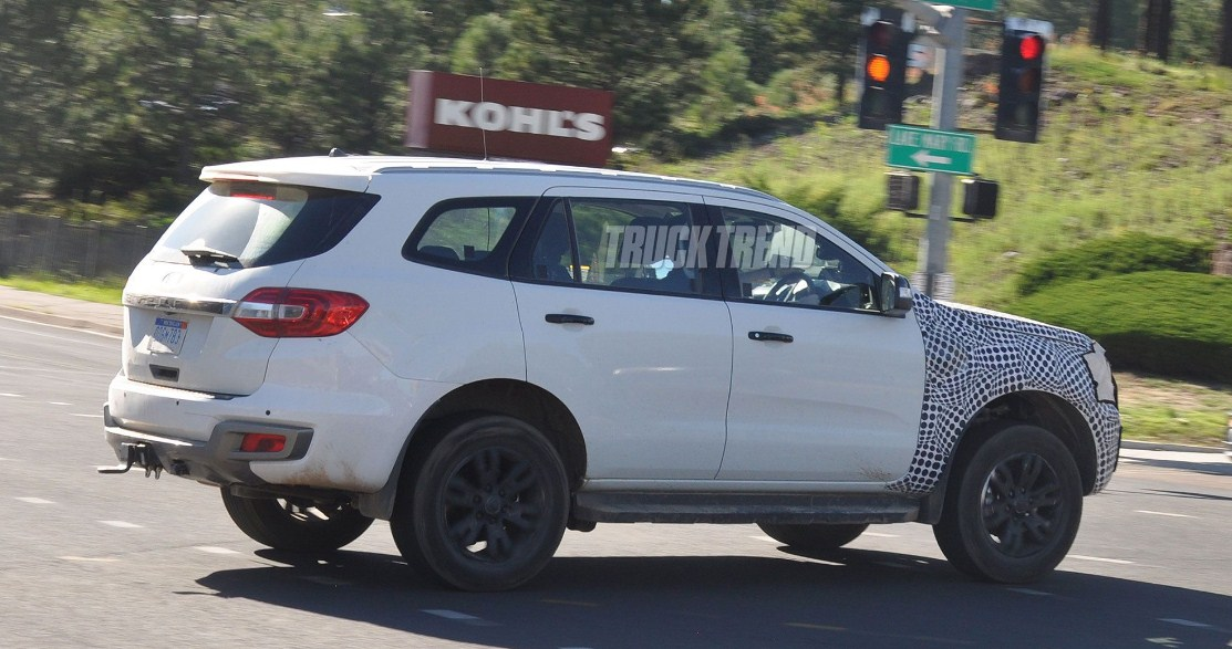 new ford bronco test mule
