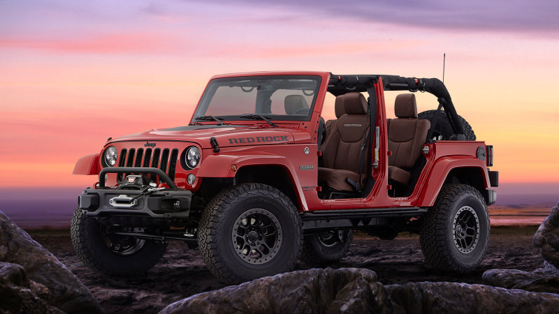 2017 Jeep Wrangler Red Rock