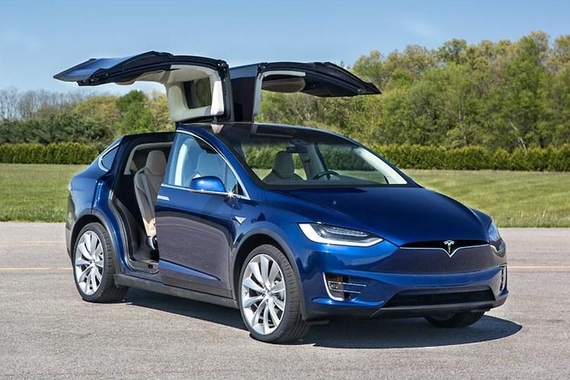 2017 Tesla Model X Suv Design
