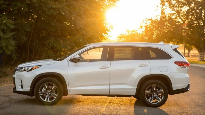 2018 Toyota Highlander Hybrid Price And Release Date