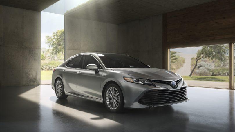 2018 Toyota Camry Spy Photos Redesign Engine Review