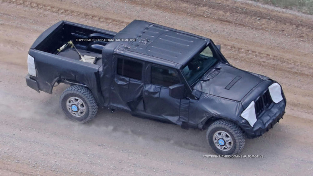 2019 Jeep Wrangler Pickup Truck, Release date, Price, Engine