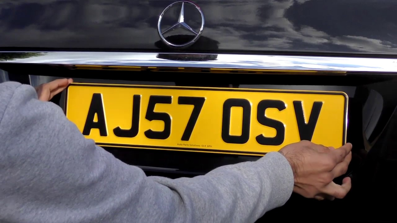 How They Do Number Plates in Germany | Car Reviews & News ...